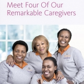 Tribute Home Care Ad -- quartet