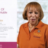 Tribute Home Care Ad -- Yvonne