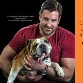 Offensive Guard, Todd-Herremans, Indianapolis, with Zeus