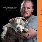 pit bull rescuer Richard Burgess & Major