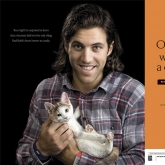 Lacrosse superstar Paul Rabil & friend