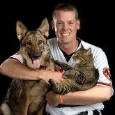 Baltimore Oriole catcher Matt Wieters & friends
