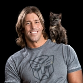 Professional Wrestler Stevie Richards & friend