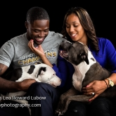 Baltimore Raven Torrey Smith & family