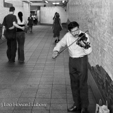 Violinist, New York Subway