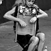 Time & the Washboard Player