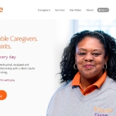 Tribute Home Care home page