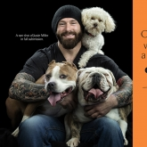 MMA fighter Justin Miller & his rescue pals