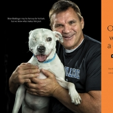 commentator, analyst & former NFL player, Brian Baldinger, with Molly