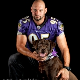 Baltimore Raven Jarret Johnson & Tucker