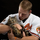 Baltimore Oriole catcher Matt Wieters & Omaha
