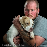 Pitbull rescuer Richard Burgess