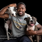 Baltimore Raven Torrey Smith & pals